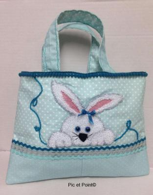 "Fiche Punch Needle ""Sac Lapin"""