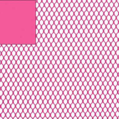 Tissu filet Mesh fabric FUSHIA