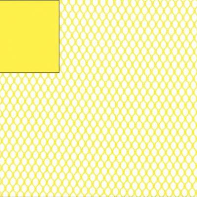 Tissu filet Mesh fabric Jaune