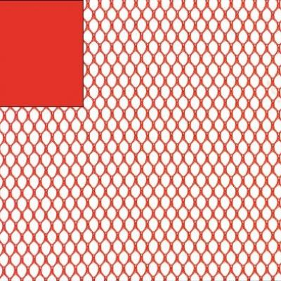 Tissu filet Mesh fabric ROUGE