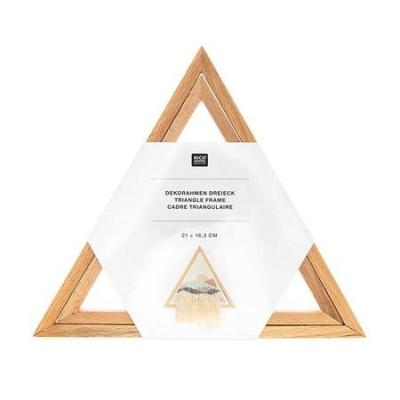 Cadre triangulaire RicoDesign