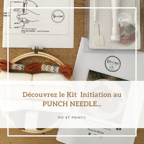 KIT découverte PUNCH NEEDLE !