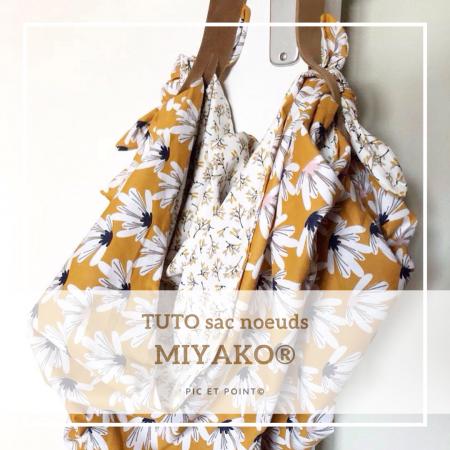 TUTO sac noeuds MIYAKO
